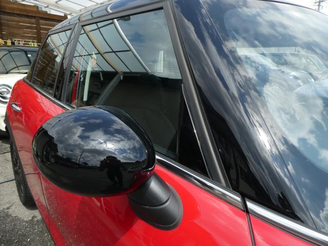 クーパー ペッパーPKG ストリートスタイル ユニオンジャックデザインLEDテール ナビゲーションPKG ドライビングアシスト 前席シートヒーター 衝突軽減ブレーキ キーフリー Bluetooth 禁煙車(55枚目)