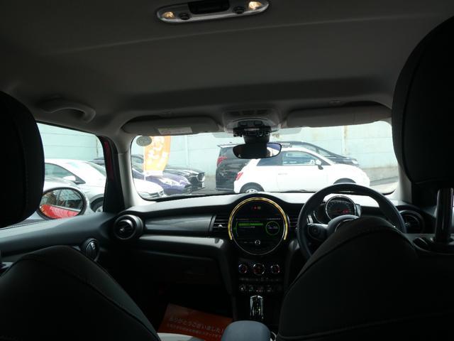 クーパー ペッパーPKG ストリートスタイル ユニオンジャックデザインLEDテール ナビゲーションPKG ドライビングアシスト 前席シートヒーター 衝突軽減ブレーキ キーフリー Bluetooth 禁煙車(75枚目)
