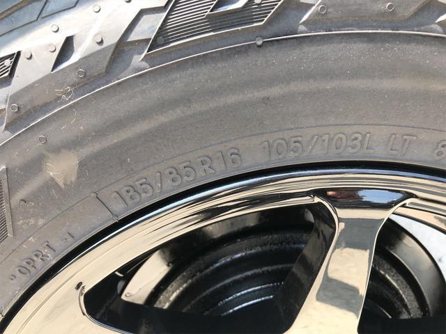 ワイルドウインド 4WD 5MT リフトアップ新品AWタイヤ(4枚目)