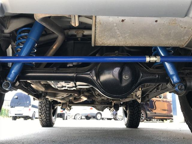ワイルドウインド 4WD 5MT リフトアップ新品AWタイヤ(5枚目)