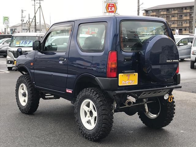 XG 4WD 5MT リフトアップ 社外16AW・マフラー(18枚目)