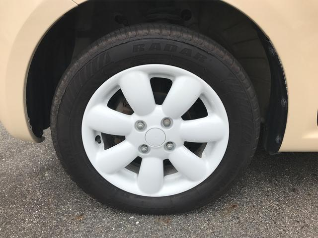 X ベージュホワイトツートンカラー 新品タイヤ ETC スマートキー プッシュスタート(11枚目)