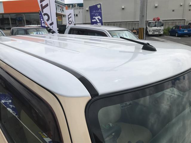 X ベージュホワイトツートンカラー 新品タイヤ ETC スマートキー プッシュスタート(37枚目)