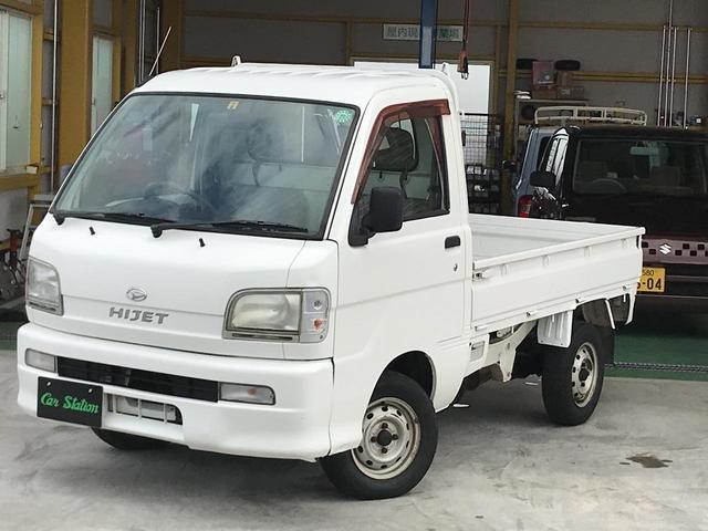 ダイハツ ハイゼットトラック スペシャル 4WD 5MT エアコン パワステ 軽トラック