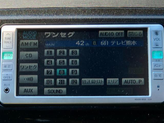 カスタムG 社外ナビ ワンセグTV ETC スマートキー 純正HIDヘッドライト フォグライト ウィンカーミラー トップシェイドガラス 純正14インチAW オートエアコン ルームイルミネーション フロアマット(18枚目)