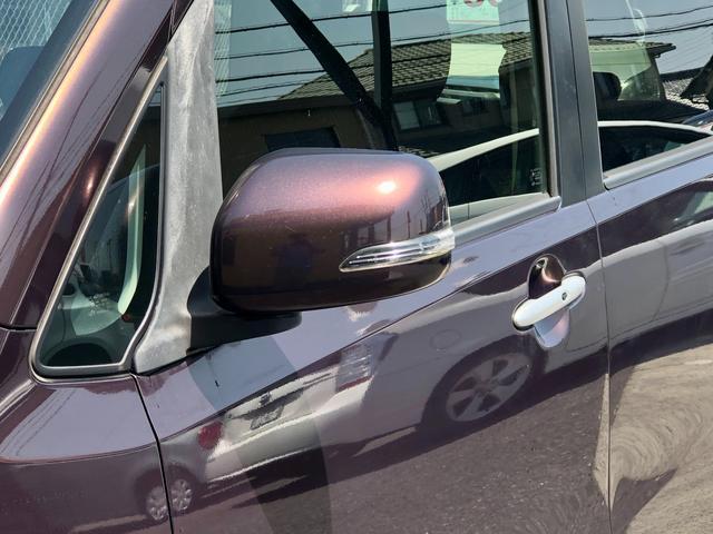 カスタムG 社外ナビ ワンセグTV ETC スマートキー 純正HIDヘッドライト フォグライト ウィンカーミラー トップシェイドガラス 純正14インチAW オートエアコン ルームイルミネーション フロアマット(24枚目)