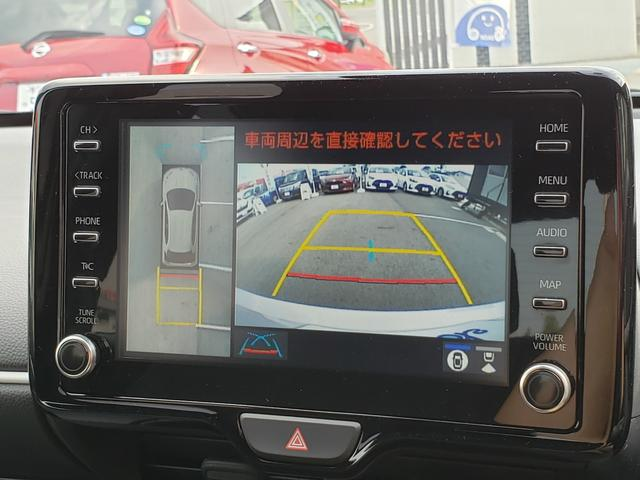 ハイブリッドZ トヨタセーフティセンス ディスプレイオーディオ パノラミックビュー 3灯LEDライト オートハイビーム 誤発進抑制 クルコン 先行車発進通知 キーフリー プッシュスタート ステアリングスイッチ(7枚目)