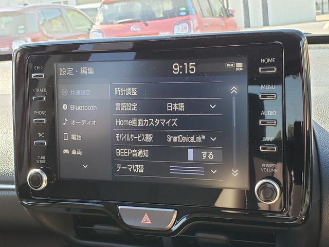 Z 登録済未使用車 トヨタセーフティーセンス ルーフレール 8インチディスプレイオーディオ 6スピーカー 運転席パワーシート バニティランプ シートヒーター LED(13枚目)