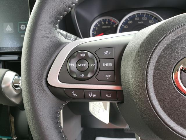 カスタムG-T 登録済未使用車 9インチディスプレイオーディオ フルセグ パノラミックビューモニター 電動パーキング クルーズコントロール 15インチアルミホイール(8枚目)