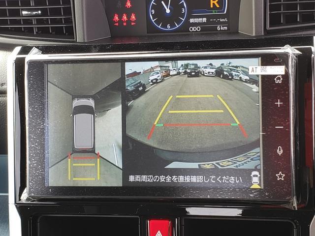 カスタムG-T 登録済未使用車 9インチディスプレイオーディオ フルセグ パノラミックビューモニター 電動パーキング クルーズコントロール 15インチアルミホイール(12枚目)