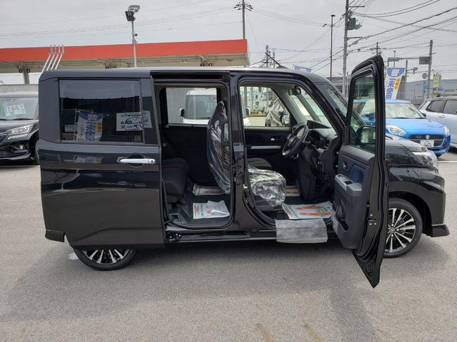 カスタムG-T 登録済未使用車 9インチディスプレイオーディオ フルセグ パノラミックビューモニター 電動パーキング クルーズコントロール 15インチアルミホイール(14枚目)
