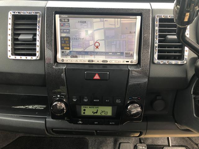 スティングレーX・社外HDDナビ・ワンセグ・キーレスキー(14枚目)