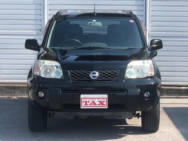X ワンオーナー・4WD・革シート・シートヒーター・社外HDDナビ・DVD再生・純正17インチAW・ETC・革巻きハンドル・電格ミラー・フロントフォグライト・ヘッドライトレベライザー・純正フロアマット(2枚目)