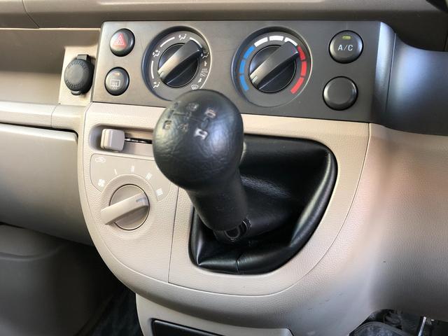 GA 走行39000km・4WD・5速MT・ヘッドライトレベライザー・フロアマット&ドアバイザー・両側スライドドア・取説・保証書・スペアキー有り(21枚目)