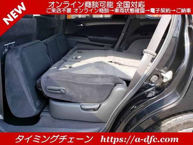 M ローダウン アルミ リヤカメラ メッキグリル 無限ドアバイザー 3列シート 7人乗り 電動格納ミラー AC ABS タイミングチェーン(29枚目)