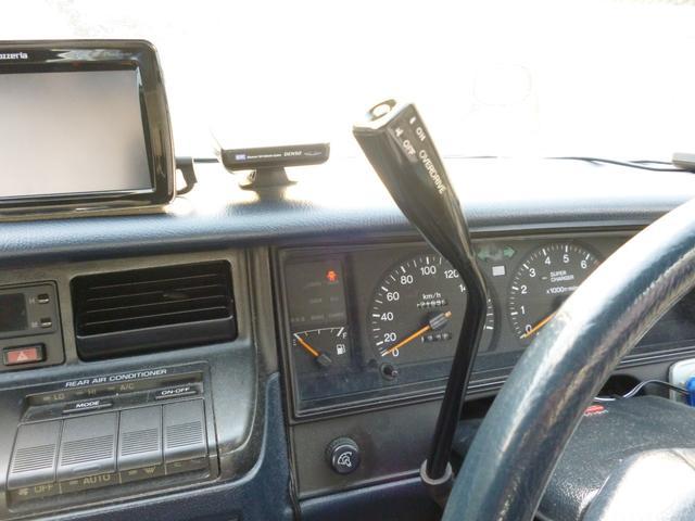 ロイヤルサルーン 130クラウン コラムAT ベンチシート ツインカムスーパーチャージャー タイベル交換済み キーレスエントリー Pシート ETC Pナビ(15枚目)