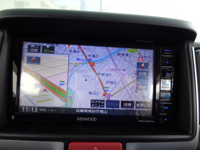 ジョインターボ 4WD 5速マニュアル ナビフルセグ LEDライト キーレス DVDビデオ ブルートゥース 最短3日即納可能(18枚目)