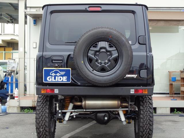 XC GLIDEコンプリートジムニー 新品2.5インチリフトアップ 新品ジオランダー6.5R16 オートマ 4WD ターボ 9型ナビフルセグ スマートキー プッシュスタート シートヒーター(8枚目)