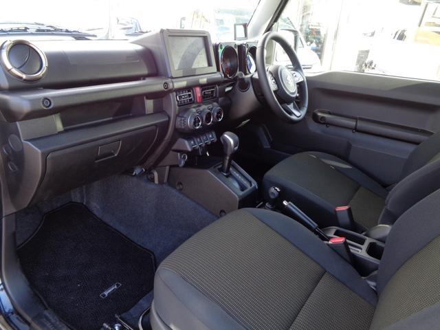 XC GLIDEコンプリートジムニー 新品2.5インチリフトアップ 新品ジオランダー6.5R16 オートマ 4WD ターボ 9型ナビフルセグ スマートキー プッシュスタート シートヒーター(10枚目)