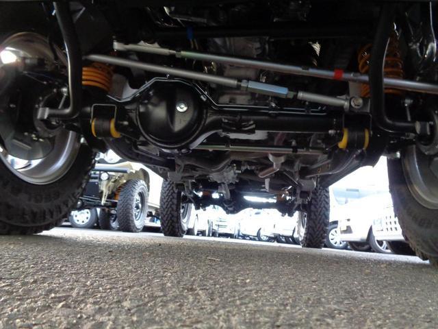 XC GLIDEコンプリートジムニー 新品2.5インチリフトアップ 新品ジオランダー6.5R16 オートマ 4WD ターボ 9型ナビフルセグ スマートキー プッシュスタート シートヒーター(27枚目)