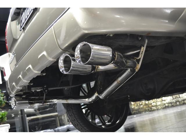 トヨタ ハイラックスサーフ SSR-G 後期仕様 新品20AW デュアルWマフラー ナビ