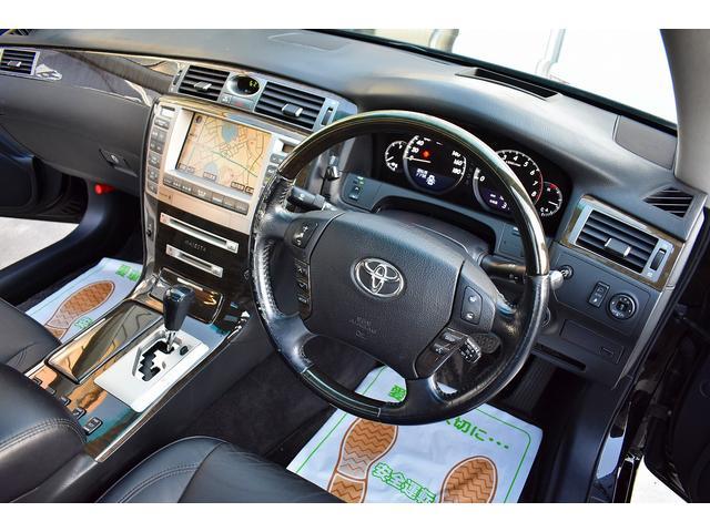 トヨタ クラウンマジェスタ Cタイプ 黒革 サンルーフ HDDナビ 地デジ フルエアロ