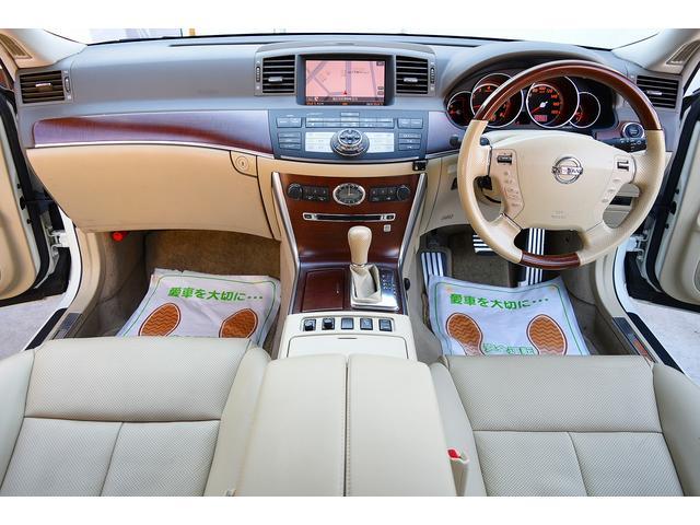 日産 フーガ 350GT 本革シート BOSEサウンド 地デジ フルエアロ