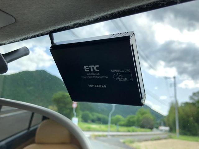 ETC搭載!高速道路の乗り降りがスムーズになるので、楽です!