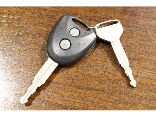 こちらの鍵はキーレスです☆
