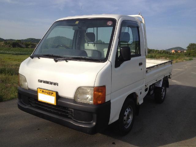 スバル サンバートラック エアコン4輪駆動エクストラローギアMT6種蒔き稲運び田植え