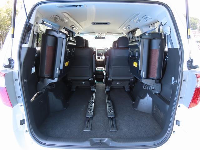 240S タイプゴールド フルセグ HDDナビ バックカメラ ETC 両側電動スライド HIDヘッドライト ウオークスルー 乗車定員7人 3列シート ワンオーナー(18枚目)