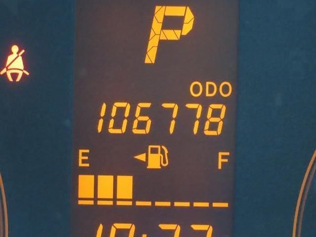 走行距離は写真撮影時で106,778キロです☆彡