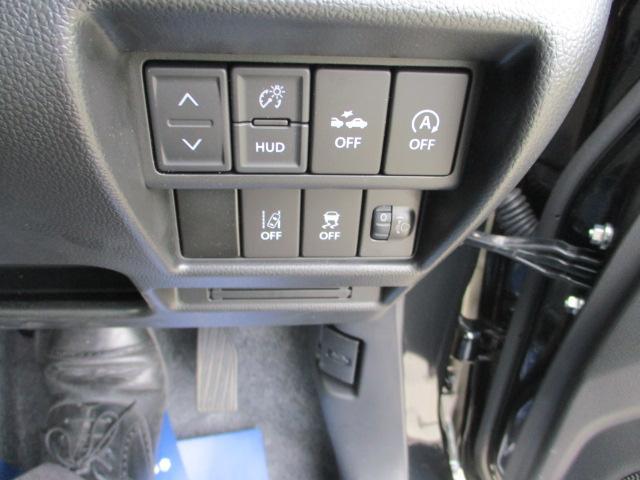 各種OFFの装置は運転席右前についています。