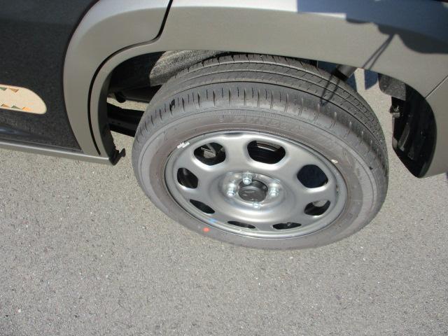 タイヤ溝も多いです。