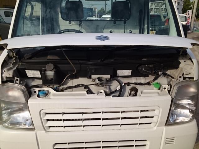 スズキ キャリイトラック 4WD 5MT KCエアコン・パワステ