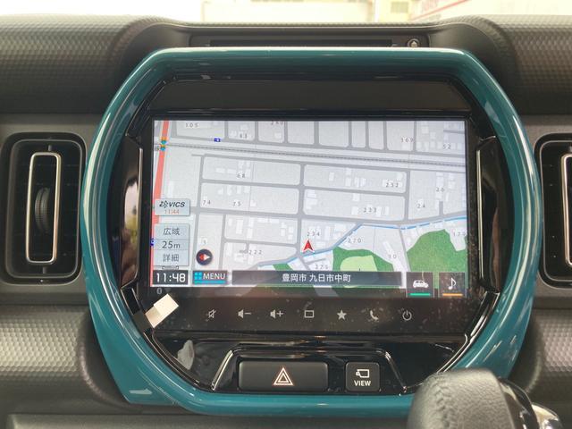 ハイブリッドXターボ 衝突軽減ブレーキ 4WD ターボ 全方位モニター LEDヘッド&FOG Bluetooth シートヒーター(10枚目)