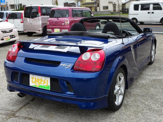 トヨタ MR-S Sエディション 6MT オープンカー ETC フォグ