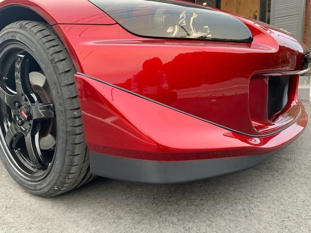 S2000 左ハンドル  無限マフラー ウイング 社外テール(12枚目)