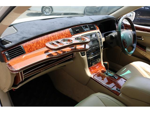 ロイヤルサルーン スピンドルエアロ RS-R車高調 社外アルミホイール HIDヘッドライト ETC レザー調シートカバー CD スマートキー パワーシート エアバック ABS 電動格納ミラー(37枚目)