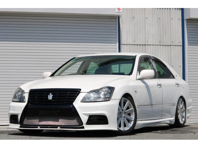 ロイヤルサルーン スピンドルエアロ RS-R車高調 社外アルミホイール HIDヘッドライト ETC レザー調シートカバー CD スマートキー パワーシート エアバック ABS 電動格納ミラー(76枚目)