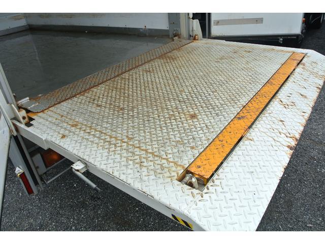 保冷バン パワーゲート積載量1850kgラッシンゲレール低床(19枚目)