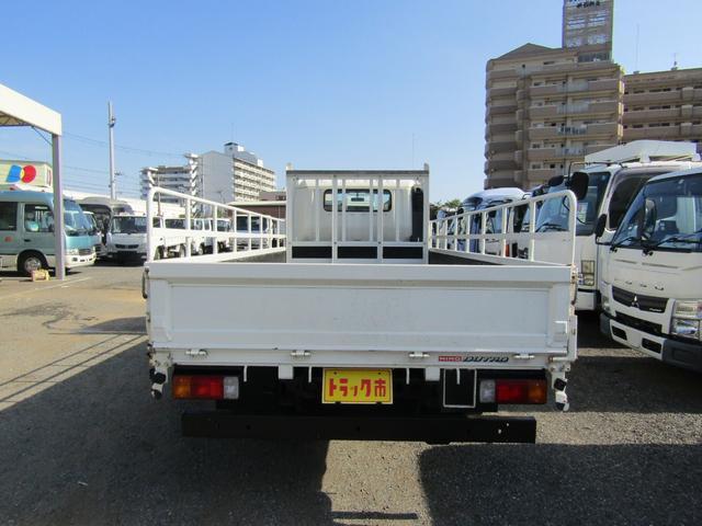 平ボディ 積載量1900kg 全低床 ワイド ロング アオリ開閉補助装置 排出ガス浄化装置 ディーゼル(5枚目)