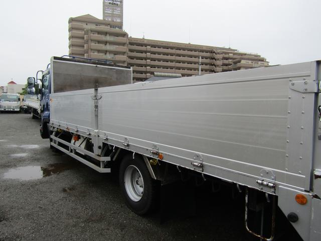 アルミブロック アルミブロック 積載量3.45t ワイド リアエアサス 荷台床板張り 5方開 HID 坂道発進補助装置(17枚目)