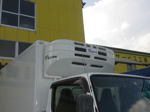 -30℃低温冷凍冷蔵車 東プレ ラッシングレール サイドドア(4枚目)