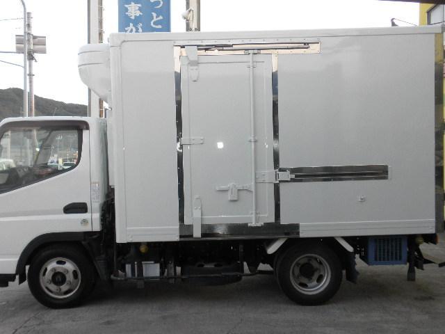 -30℃低温冷凍冷蔵車 東プレ ラッシングレール サイドドア(6枚目)