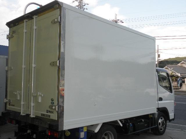 -30℃低温冷凍冷蔵車 東プレ ラッシングレール サイドドア(9枚目)