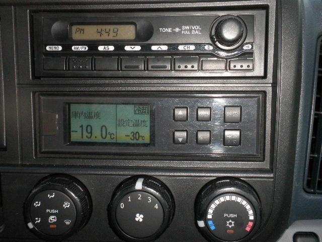 -30℃低温冷凍冷蔵車 東プレ ラッシングレール サイドドア(17枚目)