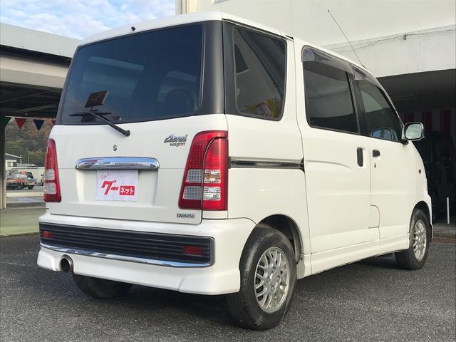 カスタム 軽自動車 ホワイト AT AC(7枚目)