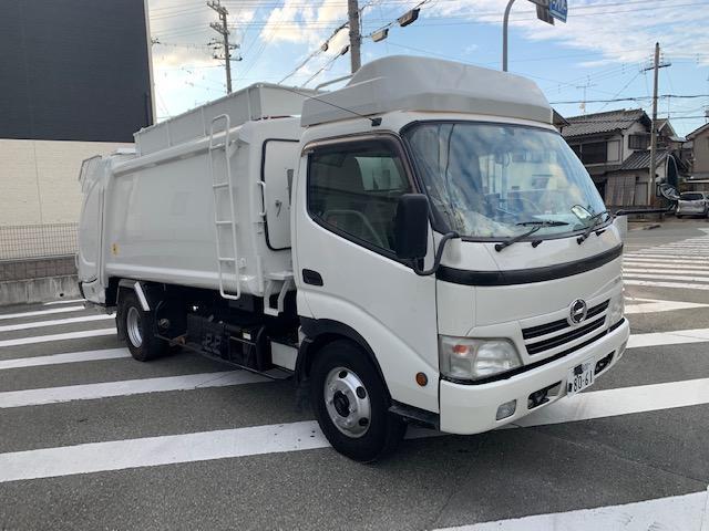 7.4m3 ゴミ収集車 パッカー車(2枚目)