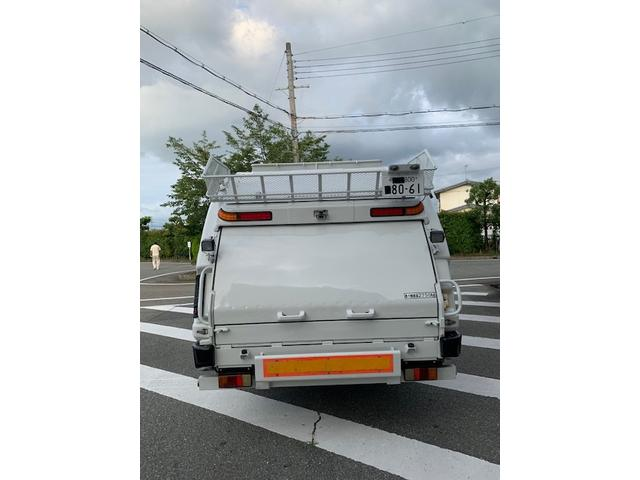 7.4m3 ゴミ収集車 パッカー車(8枚目)